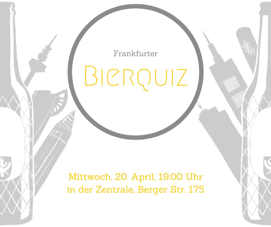 Visual zum 1. Frankfurter Bierquiz